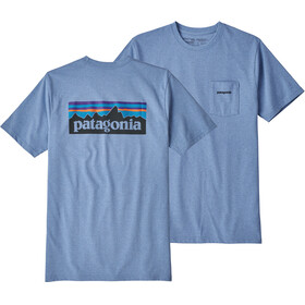 Patagonia P-6 Logo Pocket - T-shirt manches courtes Homme - bleu